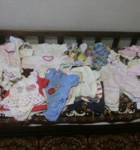 Вещи на девочку от 0 до 5 месяцев