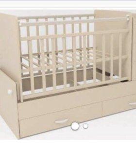 Детская кроватка 3в1