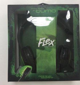 Наушники 🎧 новые Qumo Flex