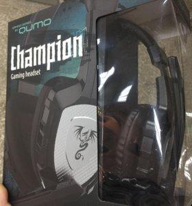 Наушники 🎧 Qumo Champion новые