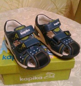Kapika туфли летние