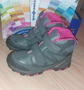 Новые! Ботинки зимние Котофей, мембрана, 37 размер