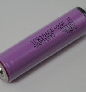 Литиевый аккумулятор Samsung 18650 ICR18650-26FM