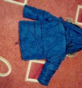 Продам новую детскую куртку