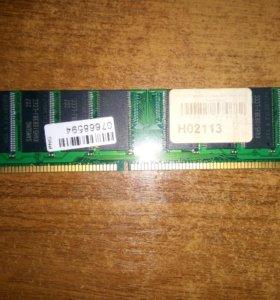 Оперативная память 1Гб DDR