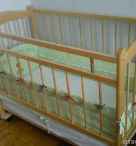 Кроватка детская (манеж)