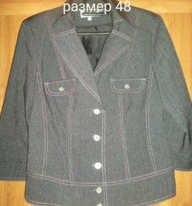 Пиджак серый(школьная форма)