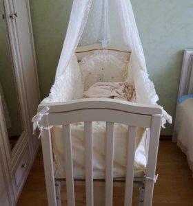 """Люлька кроватка """"Лили Гардылян"""""""