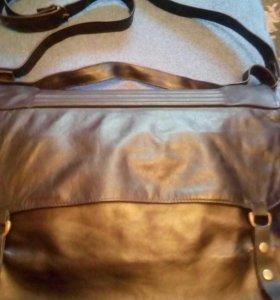 Мужская кожанная сумка