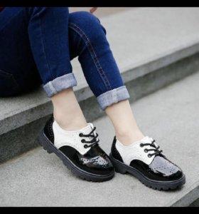 Стильные туфли 🎩новые