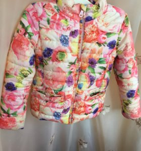 "Куртка на девочку весна ""acoola"" 4-6лет"
