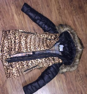 Зимняя куртка на рост 128-134