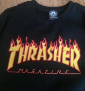 Свитшот Trasher теплый