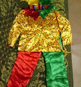Новогодний костюм скомороха
