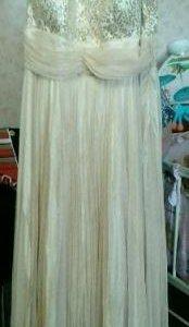 Вечернее (свадебное) платье 54-56