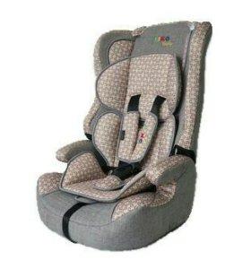 Автокресло Liko-Baby LB 513 Серый/Бежевый принт
