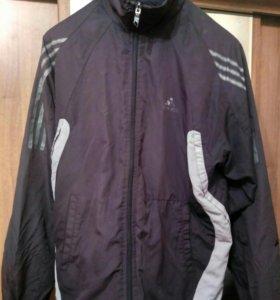 Спортивный костюм Adidas мужской черный олимпийка