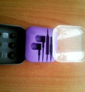 Коробочка от оригинальных наушников Xiaomi
