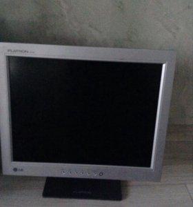 Цена за два монитора Lg Flatron Dell