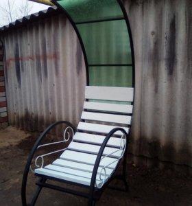 Шезлонг-кресло с крышей