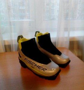 Ботинки лыжные детские фишер