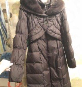 Пуховик - пальто зима