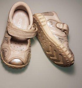 Туфли - сандали ecco 20 размер