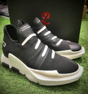 Adidas Y-3 Yohji Yamamoto Noci Low Black