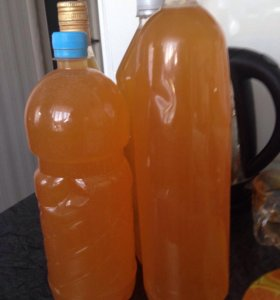 Уксус яблочный на меду домашний 1 литр