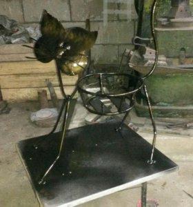 Изготовление кованых изделий горячим способом