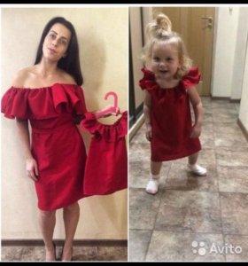 Платья мама-дочь