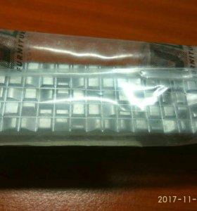 Ручки мебельные матовые хром 128 мм - 15 штук