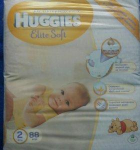 Памперсы Huggies Elite Soft