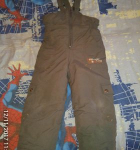 Теплые штаны(комбинезон)