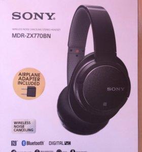Беспроводные шумоподавляющие наушники Sony ZX77OBN