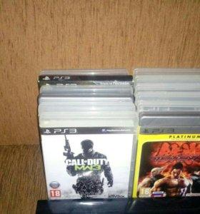PlayStation 3 super slim 13 игр 2 геймпада 500 gb