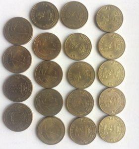 Монеты 10 юбелейки