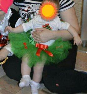 Новогодний костюмчик для малышки