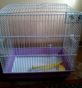 Ferplast Клетка для птиц 1, 35,5 х 24,7 х 37 см