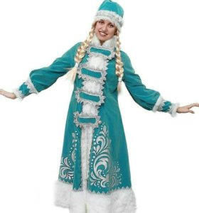 Снегурочка Аппликация костюм