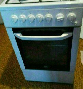 Плита газовая с электрической духовкой Beko CSE