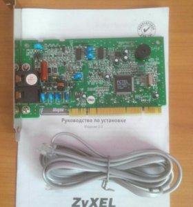 Модем ZyXEL OMNI 56K PCI EE