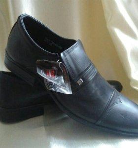 Новые туфли натуральной кожи
