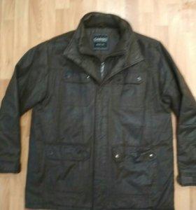 Куртка б/у под вытертую кожу.