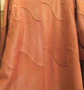 Пальто из натуральной кожи, Италия