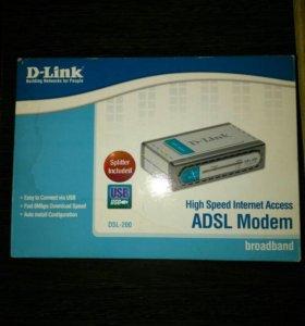 Модем ADSL Dlink