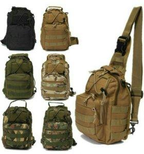 Тактический/городской однолямочный рюкзак (сумка)