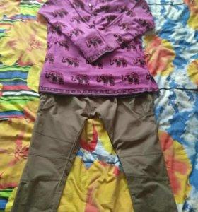 Мужские штаны и рубашка
