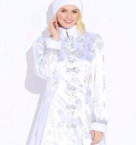 Костюм снегурочки белоснежная
