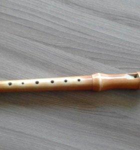 Блок-флейта дерево